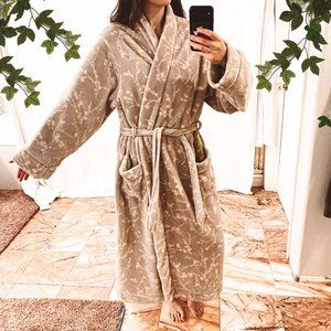 Plush Liz Claiborne Floor-Length Bath Robe, sz XL